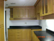 Kitchen with complete cabinetry