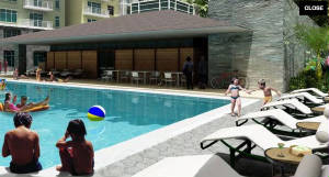 One Serendra swimming pool